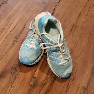 K-Swiss size 9 light blue athletic shoes
